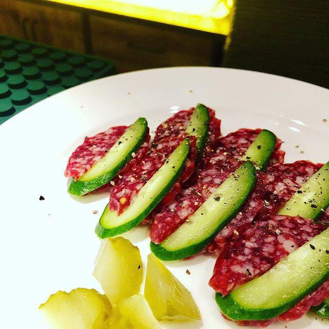 #yamaguchi #山口 #craftbeer #brewery #bar #shimokitazawa #下北沢 #beer #groumet #美味しい#brown #white #black #purple #red #tokyo #東京 #japan #authentic #cocktails #sake #spirits #salami #cucumber #きゅうり #サラミ - from Instagram