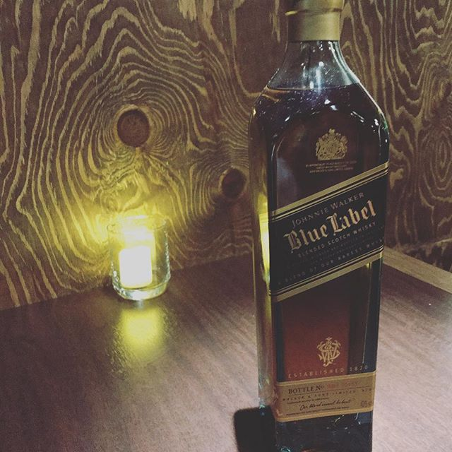JohnnieWarkerBlueLabel #Bar#JohnDoe#New#bottle #下北沢#バー #whiskey#静かな時間 #おちつく場所 #食事#カクテル - from Instagram