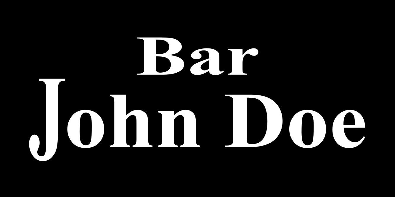 下北沢 Bar JohnDoe(バージョンドー)